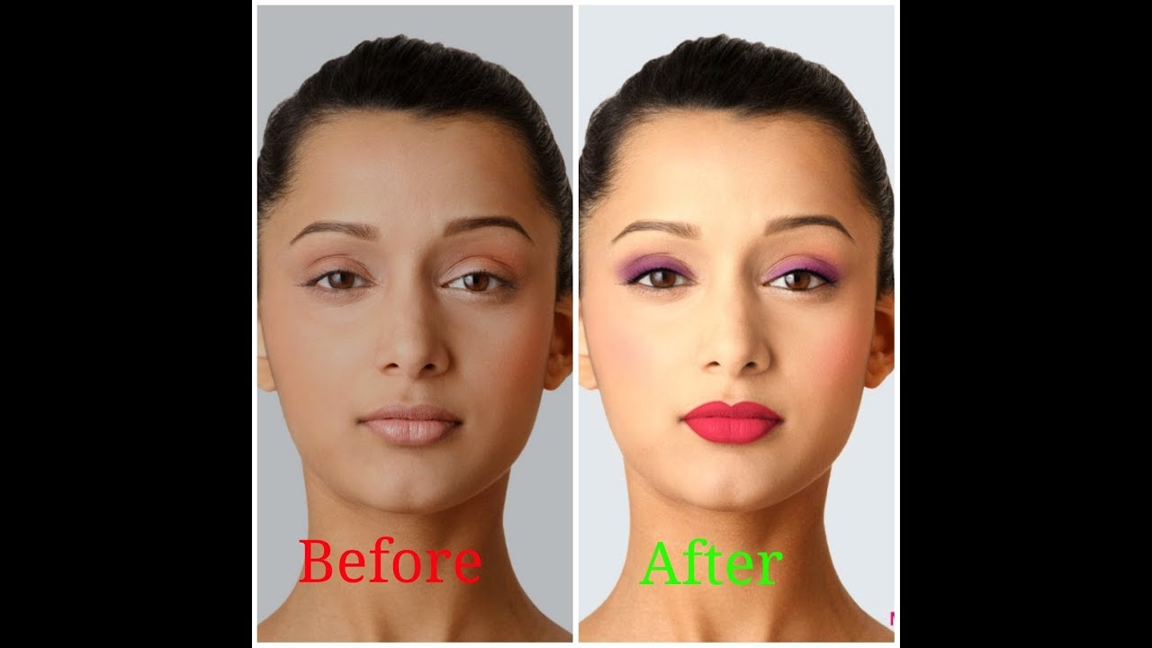 Amazing makeup transformation with lakme makeup pro app