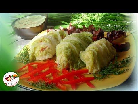 ГОЛУБЦЫ из пекинской капусты. Просто, быстро и очень вкусно!