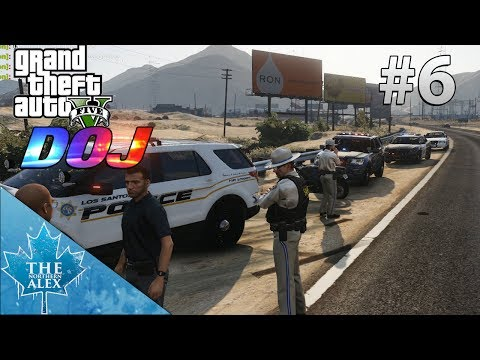 GTA V Department of Justice #6 - Just a normal day in the office -