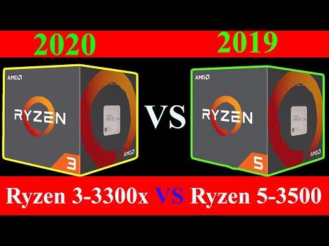 Question Need Help To Choose Between Ryzen 5 3500 And Ryzen 3 3300x Tom S Hardware Forum