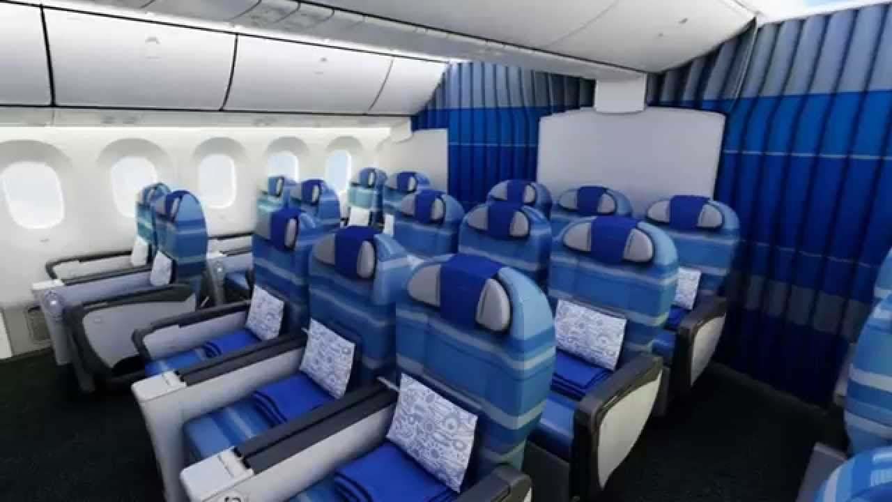 LOT Boeing 787 Dreamliner   Interior