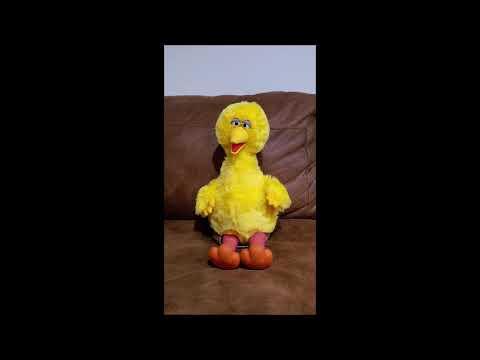 Talking Big Bird - The Sesame Street Players Present Mother Goose