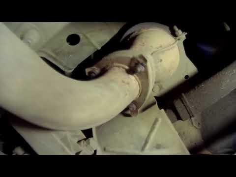 Как открутить резонатор на калине