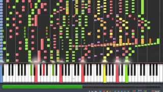 orchestral death waltz synthesia with midi link