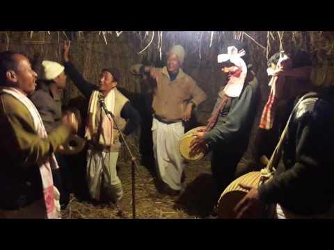Magh Bihu Celebration At Katahguri (Raha)