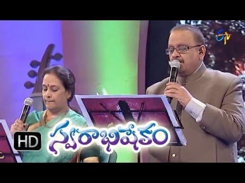Komma Kommako Sannayi Song   SP Balasubrahmanyam, SP Sailaja Performance in ETV Swarabhishekam   11t