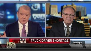 Truck driver pay plummeted in last 30 years: Drivers association president