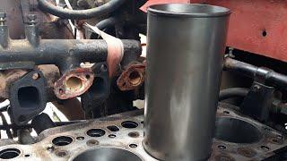 Cara memasang liner nissan 220 dengan alat yang sederhana