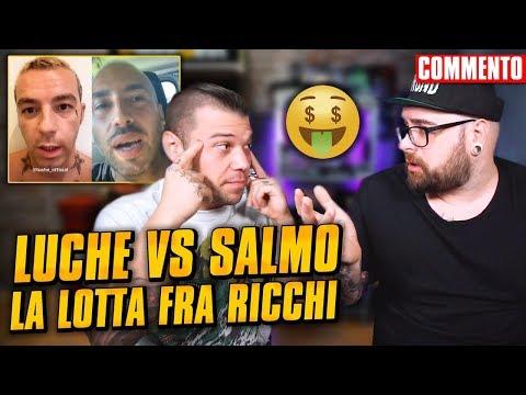 Luche VS Salmo,  insulti sui social , Inoki e Fedez rispondono ! * IL COMMENTO * Arcade Boyz
