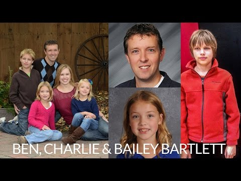 Funeral for Ben, Charlie and Bailey Bartlett
