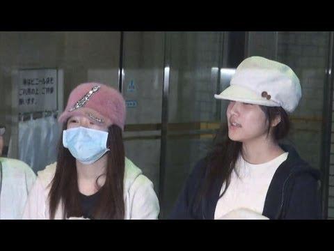 「もう大丈夫です」 川栄さん、入山さん退院 AKB idols leave hospital after attack