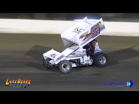 Lake Ozark Speedway 360 Sprints Winged 9-14-19