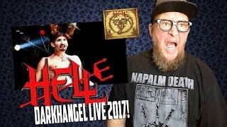 Baixar HELL -  Darkhangel    Bloodstock Live (Reaction)