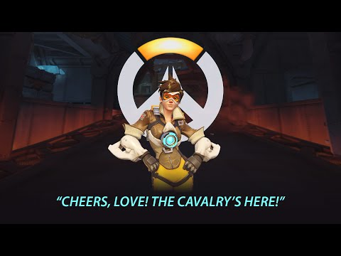 Overwatch: Tracer Statue Unboxing