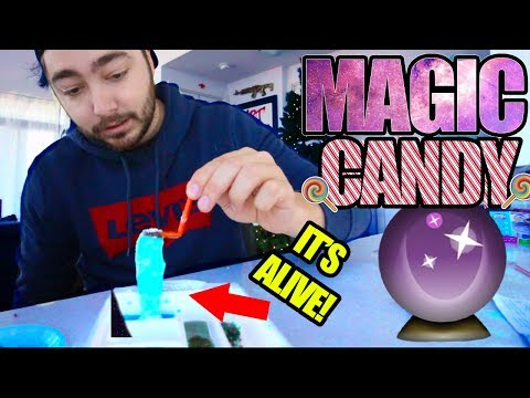 """Trying out """"MAGIC RIBBON CANDY""""! + GIVEAWAY"""