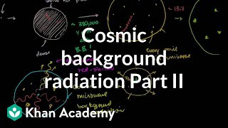 Cosmic background radiation 2 | Scale of the universe | Cosmology & Astronomy | Khan Academy