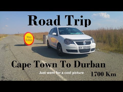 Epic 1700 Km Road Trip - Cape Town To Durban In One Day