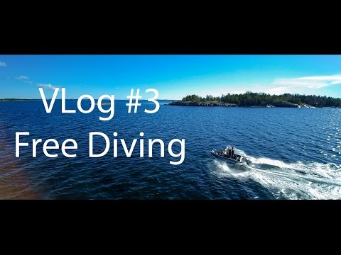 Vlog #3 WTH is there to do on Åland - Freediving