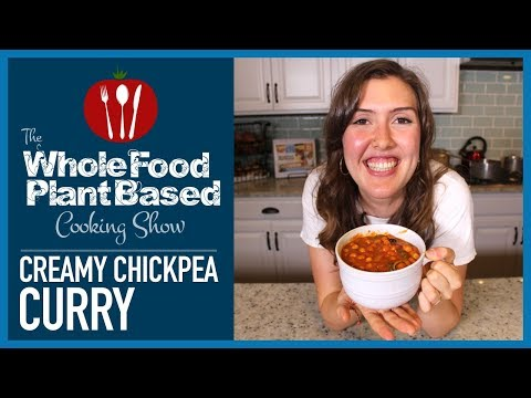 Easy Plant Based Vegan Creamy Chickpea Curry Mp4 Video Hd Video Mp3