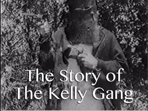 The Story Of The Kelly Gang — Australian silent feature film movie, bushrangers - YouTube