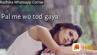 Aashiqui 2 arijit singh sad ringtone whatsapp status video cute hindi ringtones
