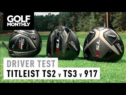 Titleist TS2 v TS3 v 917 I Driver Test I Golf Monthly