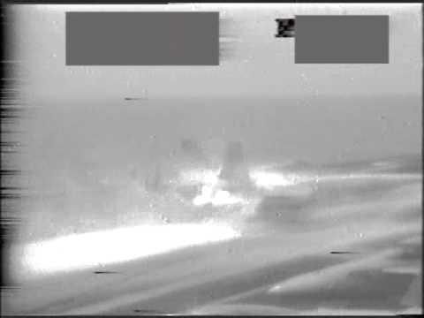 USS Carl Vinson flight deck fire