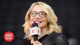 Doris Burke talks NBA's potential return to play | Golic & Wingo
