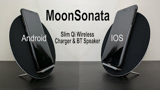 @MoonSonata_ A Slim Wireless Charging stand with a built-in BT Speaker (Android/IOS) @kickstarter 