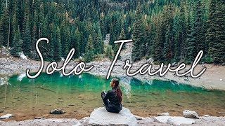 i solo travelled to banff, canada and it was amazing