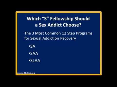 12 step program for sex addicts
