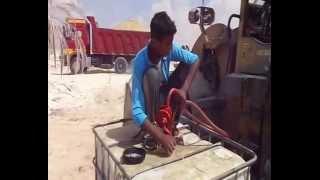 قناة السويس الجديدة : خزانات الوقود بمواقع الحفر توفيرا للوقت وأنتظام العمل
