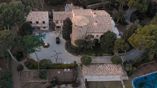 A villa belonging to the stepdaughter of Sergei Chemezov on the Costa Brava.