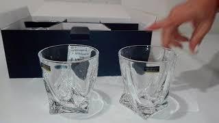 Стаканы для виски Bohemia Quadro 340 мл 6шт - обзор