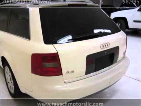 2001 Audi A6 Avant Used Cars Parker CO