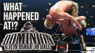 WHAT HAPPENED AT: NJPW Dominion 2018