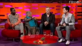 Adam Lambert Never Close Our Eyes Graham Norton Show 6-22-12