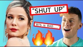 Halsey Protected BTS from RUDE Talk Show Host! #ProtectBTS
