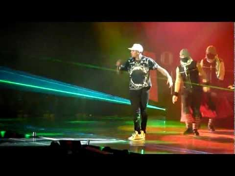 Chris Brown - I Can Transform Ya / Bassline / Look At Me Now | Live in Stuttgart, 23 November 2012