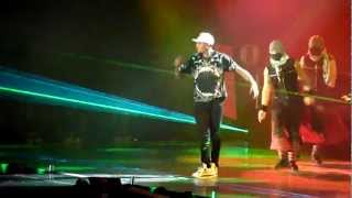 Chris Brown - I Can Transform Ya / Bassline / Look At Me Now | Live in Stuttgart, 23 November 2012