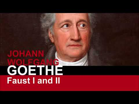 FAUST 1 by Goethe - FULL Audiobook (Dedication, Prelude, Prologue, and Scene 1)