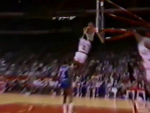 Orlando Woolridge (28pts/9rebs/6 Dunks) vs. Clippers (1985)