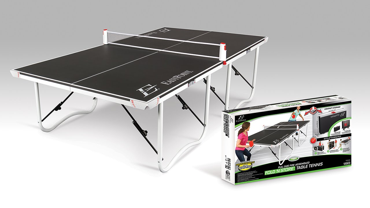 Eastpoint Sports Fold N Store 18mm Table Tennis Table