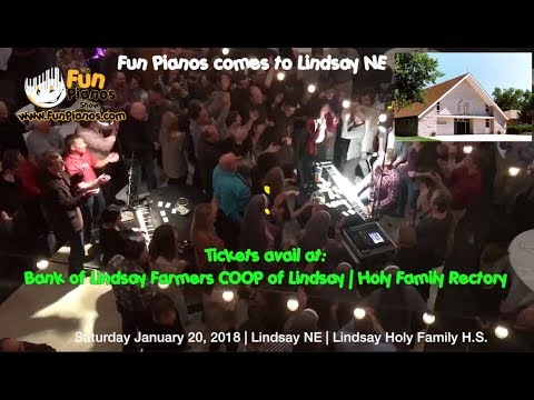 Fun Pianos! Dueling Pianos show comes back to Lindsay NE 1/20/18