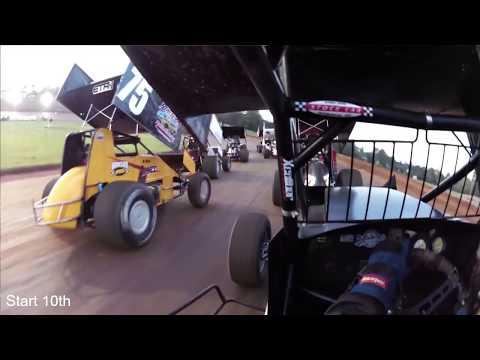 Indiana Racesaver Sprint Cars at Bloomington Speedway 9/16/17