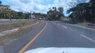 El Salvador: Driving to Ilobasco and Sensuntepeque, starting in Cojutepeque, Part 1