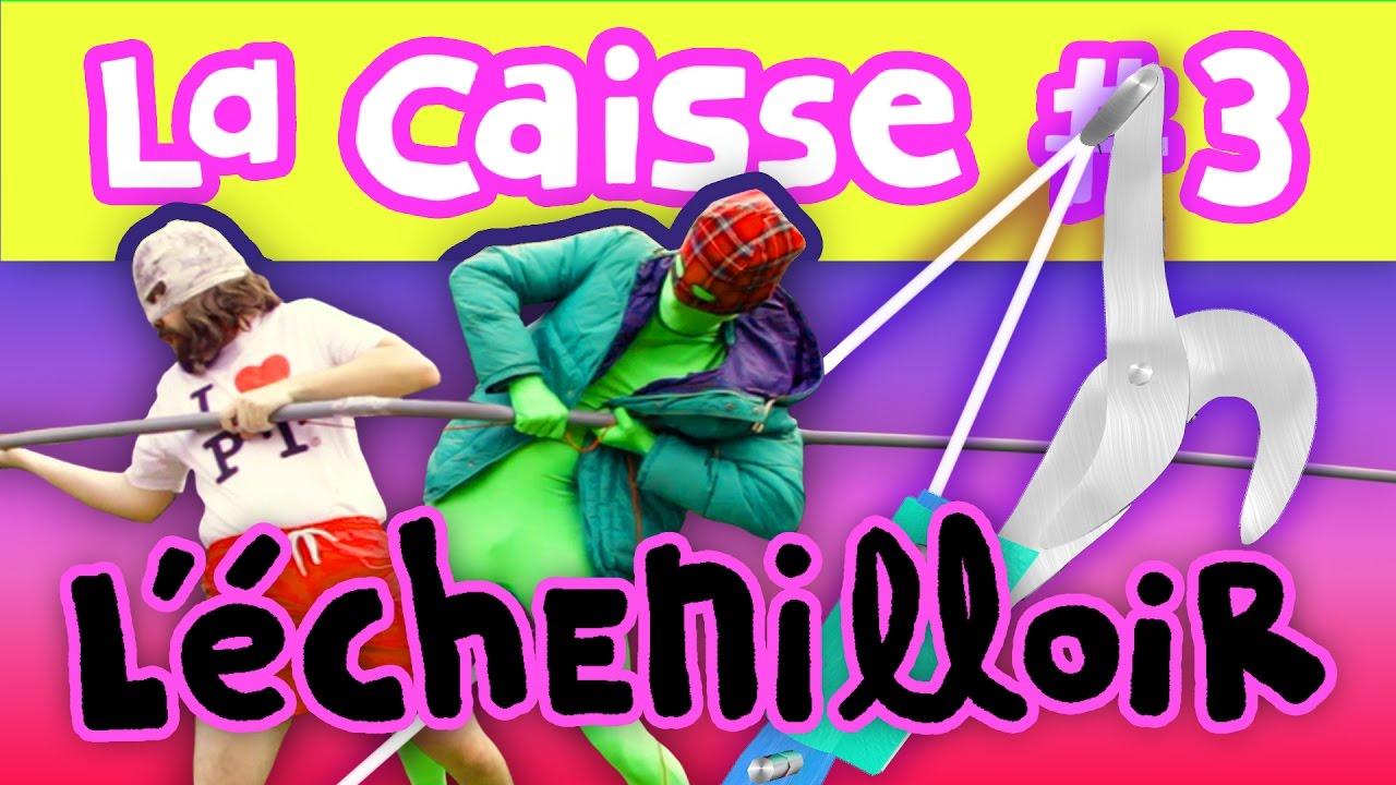 L'ECHENILLOIR - La Caisse #3 (Feat. Axolot & Histoire brève)