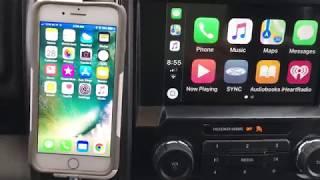 Ford Sync 3 Apple car play Emoji translation