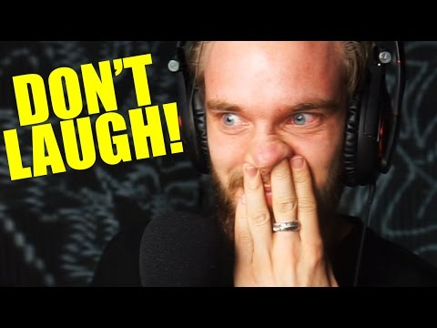 Thumbnail: TRY NOT TO LAUGH CHALLENGE! #1 (PewDiePie React)