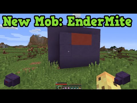 Minecraft Xbox One / PS4 New Mobs in TU30: Endermite Explained